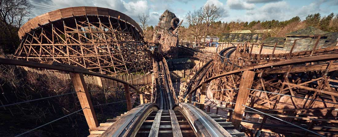 Alton Towers Wicker Man