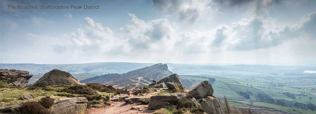 The Roaches, Staffordshire Peak District
